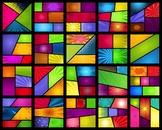 20 Colored Comic Layouts (1080x1080) #1