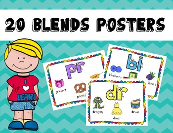 20 Colorful Blends Posters