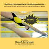20 Complete Multisensory Structured Language Literacy Lessons