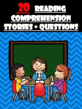 20 Comprehension stories