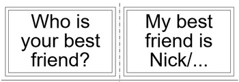20 Conversational Question Cards for Elementary level Kids