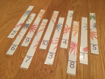 20 Counting Puzzle Strips