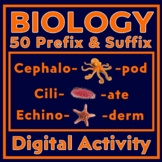 20 Critical Thinking Mini-Lessons to Learn Biology Prefixes & Suffixes
