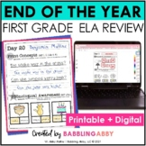 First Grade Review: Reading Foundational Skills