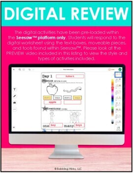 Second Grade Review: Reading Foundational and Literacy Skills