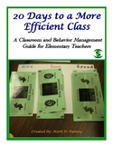 20 Days To A More Efficient Class