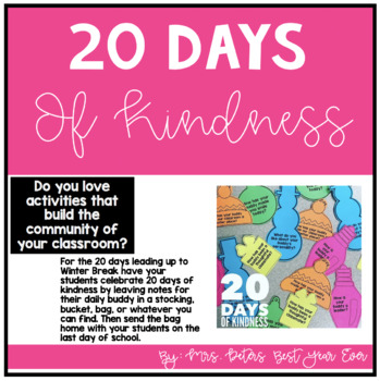 20 Days of Kindness