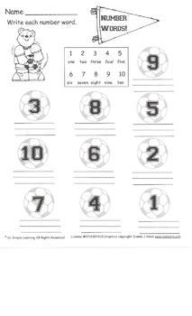 20 Days of Math Homework Days 1-20