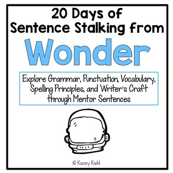 20 Days of Sentence Stalking from Wonder by R.J. Palacio