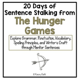20 Days of Sentence Stalking from The Hunger Games by Suzanne Collins