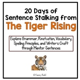 20 Days of Sentence Stalking from The Tiger Rising by Kate DiCamillo