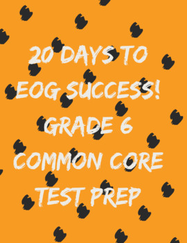 20 Days to EOG Success!
