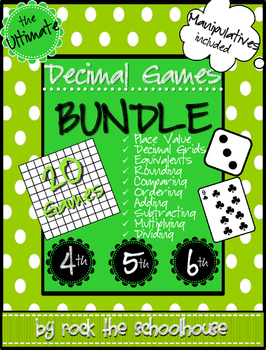 Decimal Games BUNDLE (20 games!)