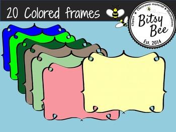 20 Different Color Frames