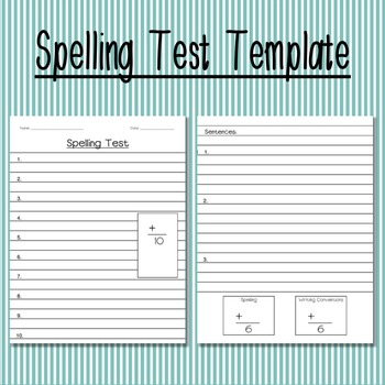20 Different Spelling Activities for any 10 word list