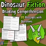 Reading Comprehension Passages and Questions: Dinosaur Reading Comprehension