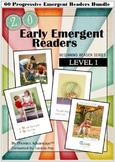 60 Progressive Emergent Readers Bundle - Beginning Reader Series