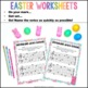Easter Quick Quizzes {20 Pages - Color & BW, American & In