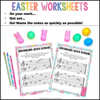 Easter Quick Quizzes {20 Pages - Color & BW, American & International Terms}
