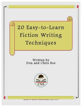 20 Easy-to-Learn Fiction Writing Techniques