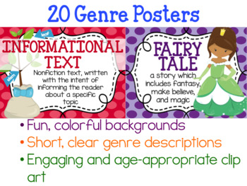 20 Genre Posters (Editable Templates Included)