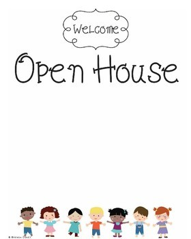 20 Editable Welcome Signs through the Year! Open House, Fall, Christmas, Easter