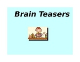 Fun Creative 'Must Have' Brain Teasers / Puzzle Package -