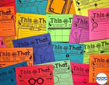 20 Exit Slips for Any Lesson – Students choose their ticket out the door