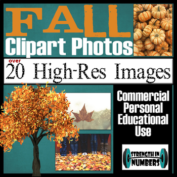 Over 20 FALL Photos Clipart High Resolution Commercial Photographs