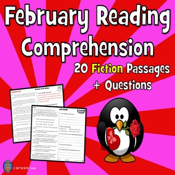 20 February Reading Comprehension Passages: Winter Reading Comprehension