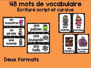 20 FRENCH Halloween Centers/ 20 Ateliers d'Halloween Français et Math