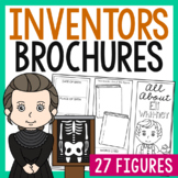 20 Famous Inventors Research Brochure Projects, Mini Book,