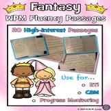 Progress Monitoring Passages, Fantasy Reading, Fantasy Reading Comprehension