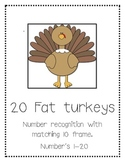 20 Fat Turkeys