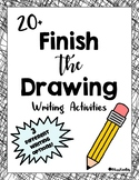 20 Finish the Drawing Prompts