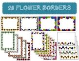 20 Flowers Borders