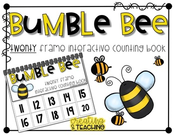 20 Frame Counting Book Bundle