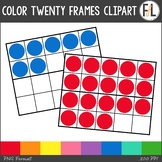 Twenty Frames Clipart - Basic Colors