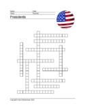 20 Framework Puzzles American Presidents