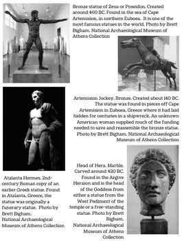 20 Free Color Photos of Greco-Roman Statuary! You can use/