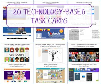 20 Technology-Based Task Cards