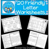 20 Friendly Letter Worksheets
