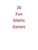 20 Fun Maths Games