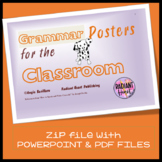 20 GRAMMAR Classroom Posters to help students remember the