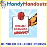 GRAMMAR SCAFFOLDING NOTES - BUNDLE