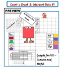 COUNT, GRAPH and INTERPRET DATA for ALL Seasons NO PREP - 20 Activities