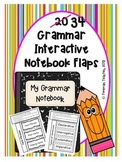 Grammar Interactive Notebook Flaps
