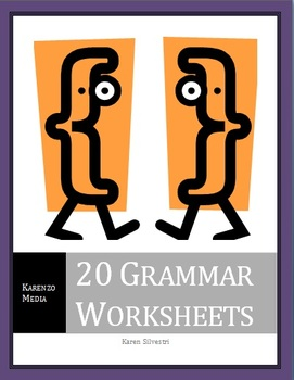 20 Grammar Worksheets