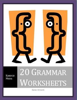 20 Grammar Worksheets