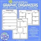 46 Graphic Organizers for Any Book- PLUS Word Work Bonus!